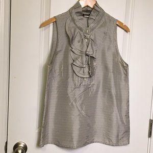 J. Crew Factory Silk Sleeveless Top Size S